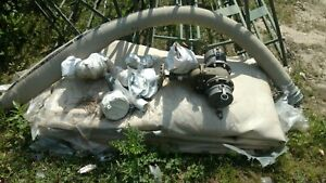 Nos 3000 Gallon Collapsible Water fuel Tank W valve Hoses