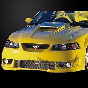 1999 2004 Ford Mustang Type 5 Style Functional Heat Extraction Hood By Amerihood