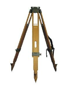 Tripod Ats 7 For Total Station Wooden Heavy Duty Summer Promotion