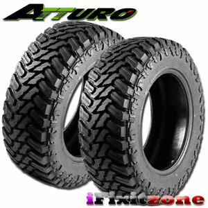 2 Atturo Trail Blade M T 35x12 50r17 121q 10pr All Season Truck Mud Tires