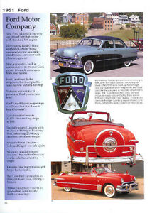 1951 Ford Convertible F 1 V8 Pickup Truck Article Must See