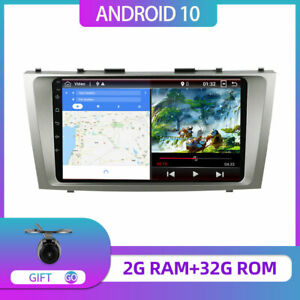 9 Gps Navi Car Radio For Toyota Camry Fit 2006 2011 Double Din Android 10 0 Dab