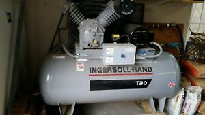 Ingersoll Rand T30 Electric Air Compressor 2 Stage 10 Hp 7100e15