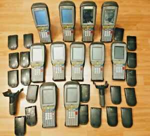 Untested lot 11x Psion Teklogix 7535 g2 Barcode Scanner Terminals 20x Batteries