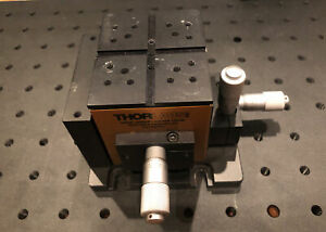 Thorlabs Mde330th Xyz 3 axis Optical Table Positioning Flexure Stage Thor Labs
