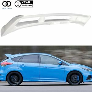 For Ford Focus 2012 2018 St Hatchback Rs Primer Style Rear Roof Spoiler Wing