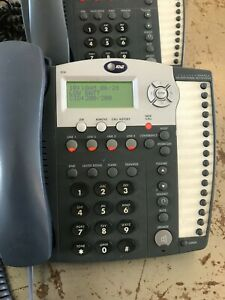 Att Four line Small Business System With 2 Speakerphones 945 974