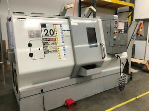 2008 Haas Sl 20t Turn mill Cnc Lathe W Live Tooling C axis Extras