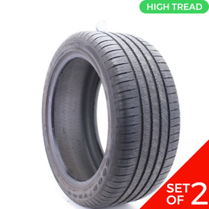 Set Of 2 Used 285 40r20 Goodyear Eagle Sport Moextended Run Flat 108v 9 32