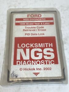 Ford Ngs Obd2 Diagnostic 1999 Trouble Code Retrieval erase Locksmith red Card