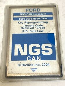 Ford Ngs Service Can blue Card 2003 2004 Hickok 2004 Trouble Code Retrieval