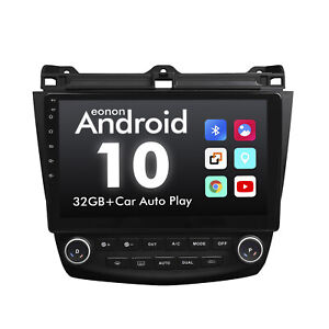 10 1 Android 10 Car Gps Stereo Radio For Honda Accord 2003 2004 2005 2006 2007