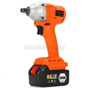 298vf 630nm Electric Cordless Brushless Impact Wrench Drill Socket 22800ma us