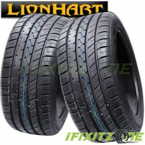 2 Lionhart Lh five 255 30zr21 93w Tire 320aa Performance All Season 30k Mile