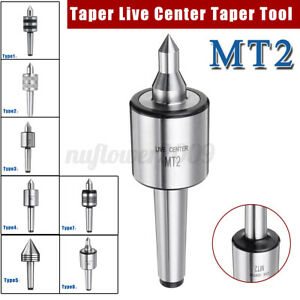 7 Type Mt2 Live Center Morse Taper Precision 0 001 Cnc Long Spindle Lathe Tool