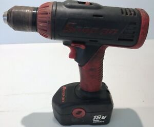 Snap On Cdr4850 18v Cordless Drill Driver W Battery