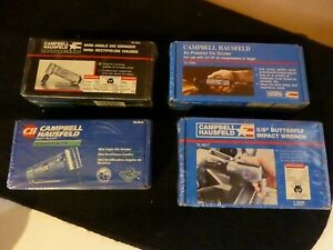 Nos Campbell Hausfeld Air Tool Lot Grinders Impact Wrench