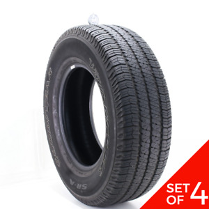 Set Of 4 Used 255 75r17 Goodyear Wrangler Sr A 113s 6 5 7 5 32