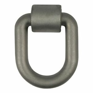 Curt 83780 3 X 4 inch Weld on Trailer D ring Tie Down Anchor
