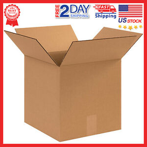 12x12x12 Corrugated Shipping Boxes Cardboard Paper Box Packing Moving Mailing 25