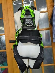 Miller Aircore By Honeywell Full Body Rescue Harness L xl And Safety Lanyard