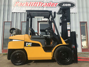 2016 Mitsubishi Fg35n 7000lb Pneumatic Tire Forklift With Side Shift
