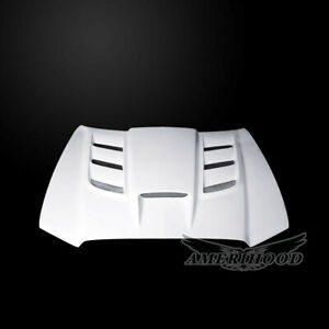 2011 2014 Dodge Charger Vip Style Functional Heat Extractor Ram Air Hood