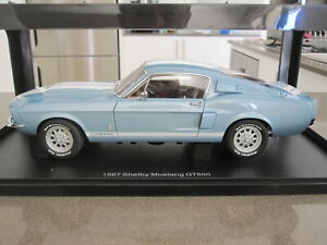 1 18 Autoart 72907 1967 Ford Mustang Shelby Gt500 New