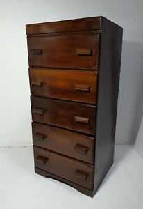 Antique Rustic Wood 6 Drawer Chest Dresser Rustic Primitive Mission Handmade