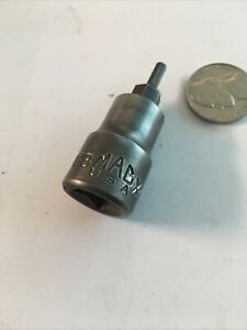 Mac Tools 3 8 Drive 1 8 Hex Allen Adapter Socket X46hbs Very Nice