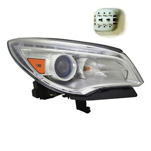 New Right Halogen Head Lamp For 2013 2017 Buick Enclave 84026395 Gm2503382