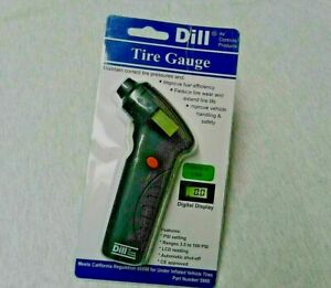 Digital Tire Gauge Dill 5900 Pressure Tire Gauge Digital