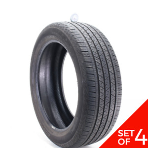 Set Of 4 Used 245 50r20 Continental Crosscontact Lx Sport 102h 7 32