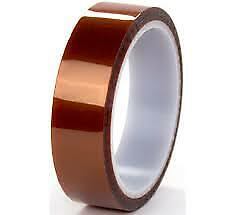 50mm X36yd Kapton Polyimide Acrylic High Heat Resistant Tape 2 5mil Thick K 102