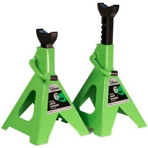6 Ton Jack Stands Pair Int55060 Brand New