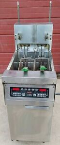 Frymaster H17blsc 3 Phase Electric 41 2amps Deep Fryer Cart Free Shipping
