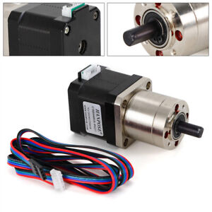 High Torque Nema 17 Stepper Motor With 1 27 Planetary Gearbox Cnc Robot Brandnew
