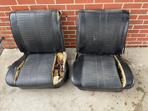 1962 1963 1964 Chevy Impala Olds Convertible Hard Top Bucket Seat Buick Chevelle