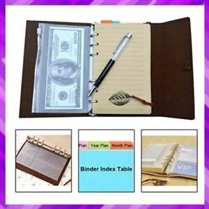 Writing Journal Notebook Memo Book Refillable Leather Travel Diary 7 5 Freude