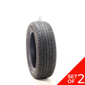Set Of 2 Used P 205 60r16 Dextero Touring Dtr1 92h 7 8 32