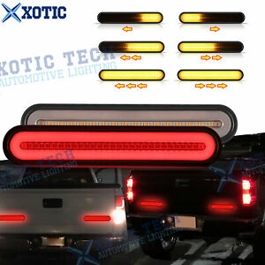 For Chevy C1500 K1500 5 Modes Sequential Led Brake Turn Signal Tail Light Bar