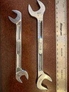 Snap On 1 2 And 11 16 Sae Four Way Angle Head Open End Wrench