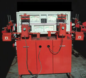 Hunter 4 Wheel Aligner S7m Electron A Line Alignment System Console Machine