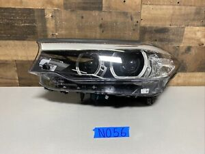 2017 2018 Bmw 5 Series Left Led Headlight Oem 7439191 04