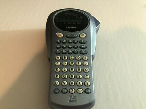 Brother P touch 1000 Label Maker Model Pt 1000 No Power Adapter No Tapes