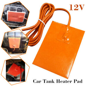 12v 13 23cm Car Engine Oil Pan Sump Tank Thermostatic Heater Electric Heating