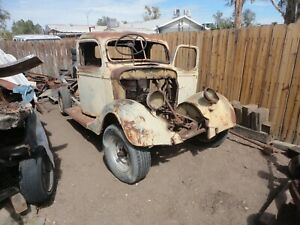 1937 Ford Pickup Rat Rod Project