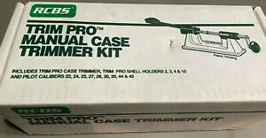 Rcbs Trim Pro Manual Case Trimmer Kit. New in box. 90355 $150.00