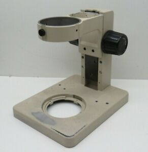 Olympus Sz st Stereo Microscope Adjustable Focus Stand Holder Base