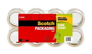 Scotch Heavy Duty Shipping Tape 3m 8 pack Free Shipping Fedex 2 day